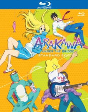 Arakawa Under the Bridge Season 1 Blu-ray Complete (S) #RightStuf2013