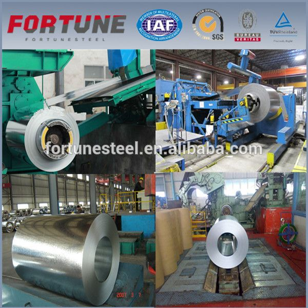 High strength galvanized / Al-Zn alloy coated / galvalume corrugated steel sheet
