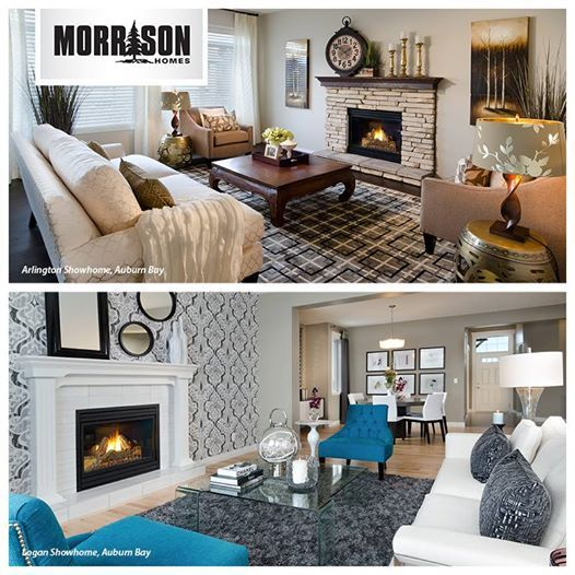 It's been a cold week, but it's almost the weekend.  This or That: which one of these fireplaces would you rather be keeping cozy by on a cold night?