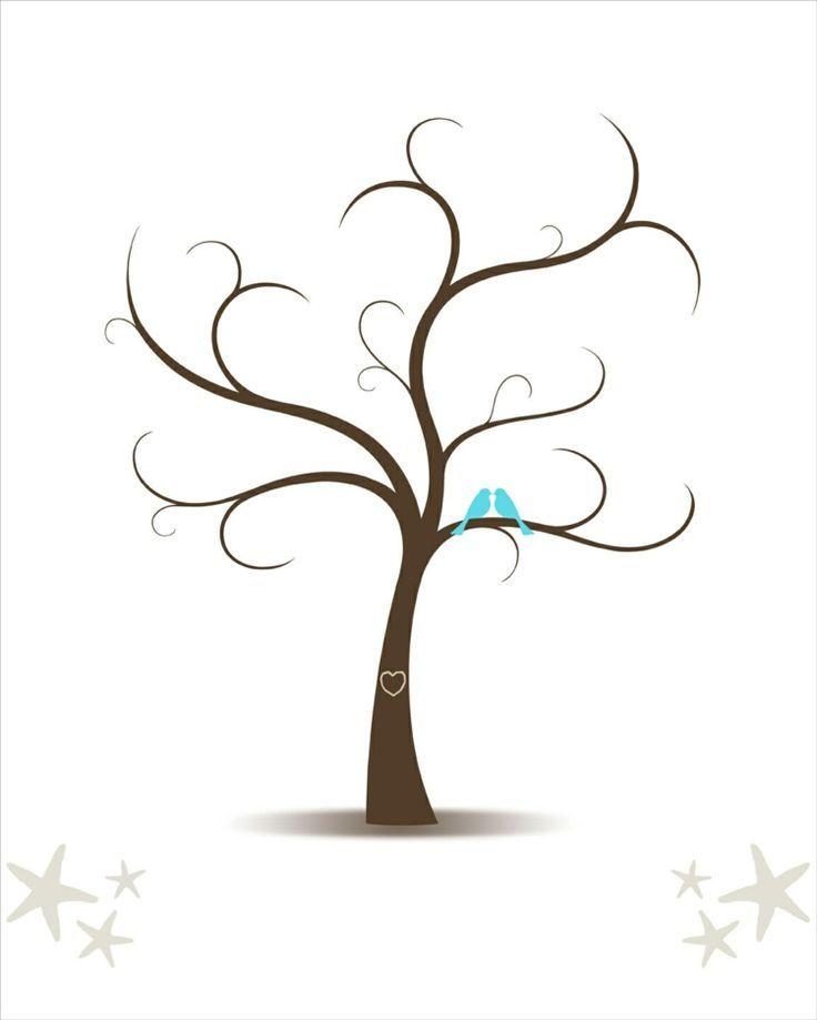 Fingerabdruck Baum Vorlage Andere Motive 4