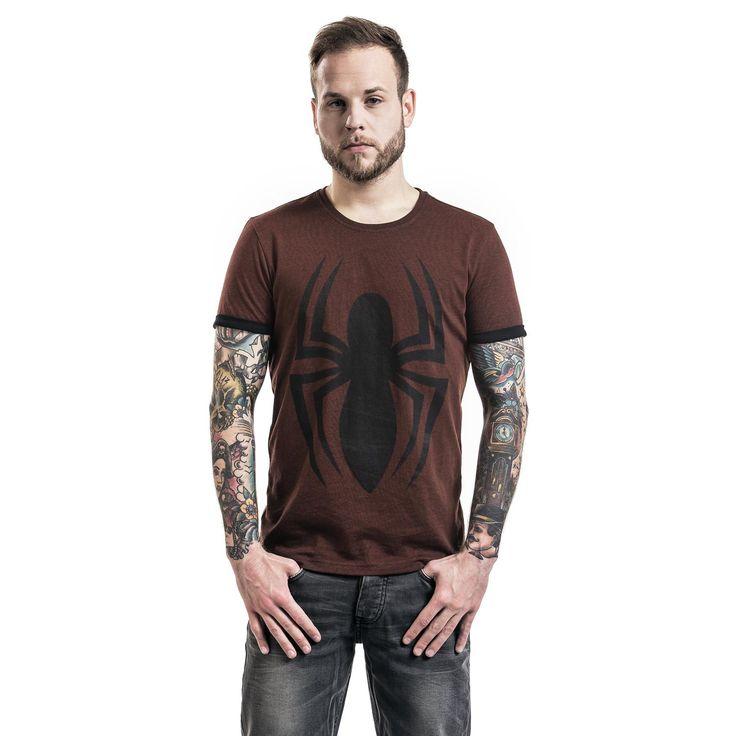"""Classica T-Shirt uomo """"Logo"""" di #Spiderman."""