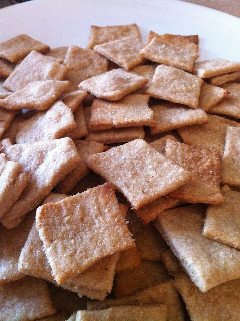 100% Whole Wheat Crackers