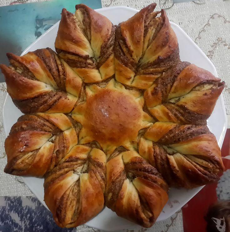 Haşhaşlı Çiçek Ekmek ( Pişmiş Hali )
