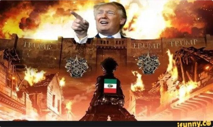 Ya ni llorar es bueno: Responden mexicanos con geniales memes al muro de Trump