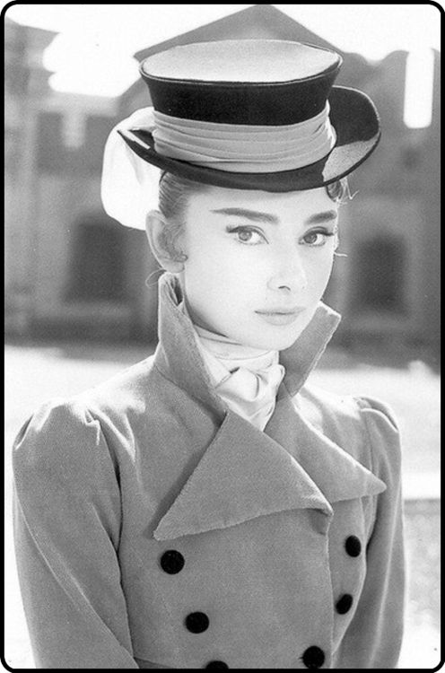 Audrey…one of my heroes.