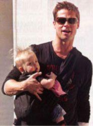 Brad Pitt -- OMG! AND he babywears?!