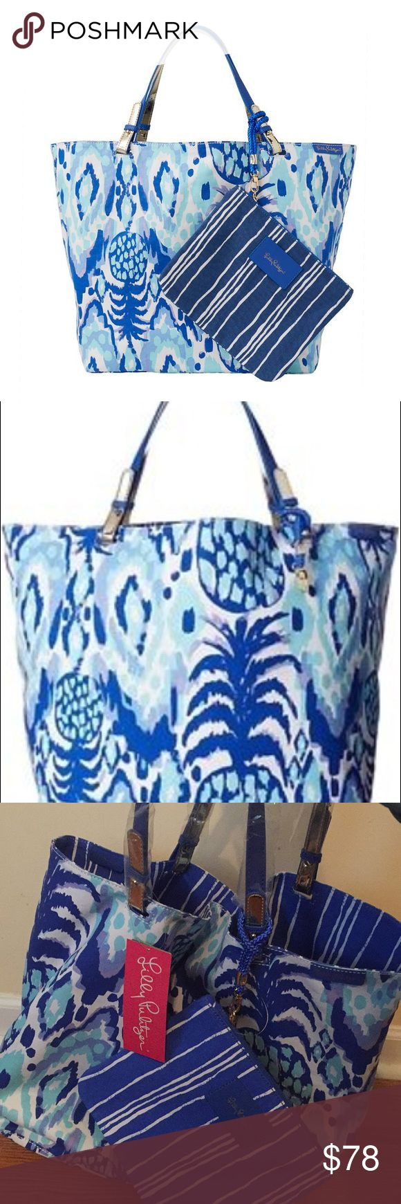 Lilly Pulitzer Beach Bathers Reversible Bag 🌸 A brand new Lilly Pulitzer Beach Bather Reversible bag (Tropi Call Me). When you can't decide, this REVERSIBLE bag is your answer! Take this bag with you on your next journey or adventure. It also comes with another bag ( that you can remove at any time) that you can keep your personal items in. This bag defines amazing! 🌸 Lilly Pulitzer Bags