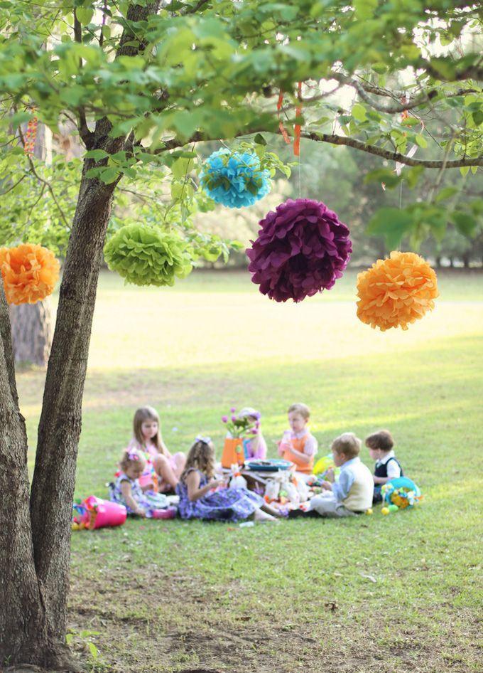 Como organizar uma festa infantil ao ar livre