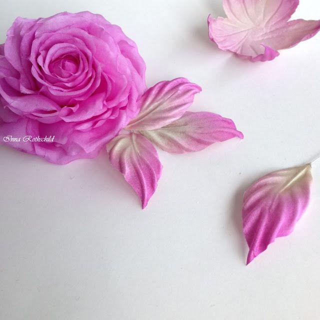 Silk Fantasy and...: цветы из шелка