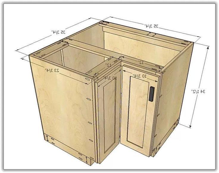 Corner Kitchen Cabinet Dimensions | Corner kitchen cabinet ...