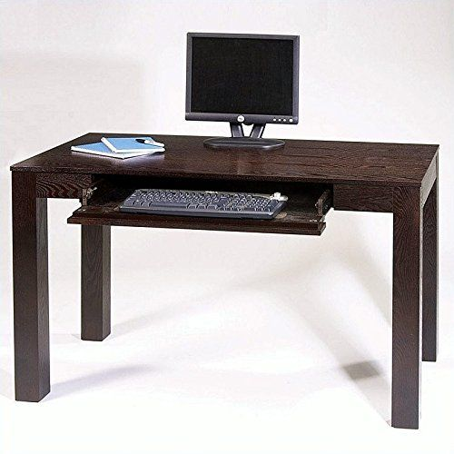Avenue Six Plaza 48 Inch Desk With Pull Out Keyboard Drawer In