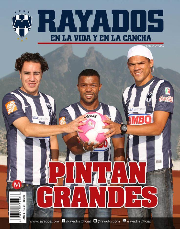 La Revista #Rayados #24 en portada con los 3 Refuerzos albiazules. #Futbol