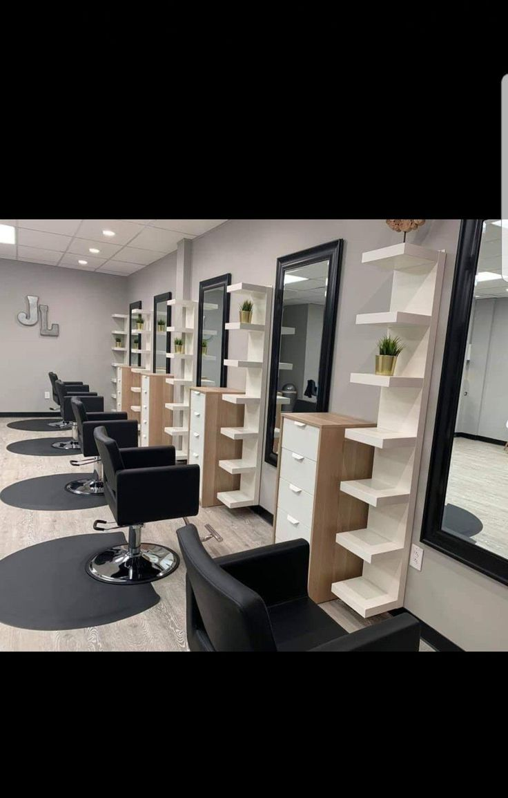 20 Ideas For A Stylish Beauty Salon  Salon interior design, Salon