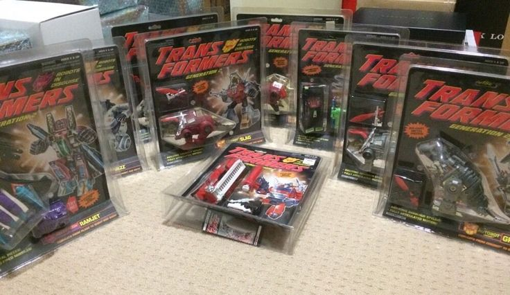 Transformers G2 Collection MISB Grimlock Slag Jazz Inferno and More MISB | eBay