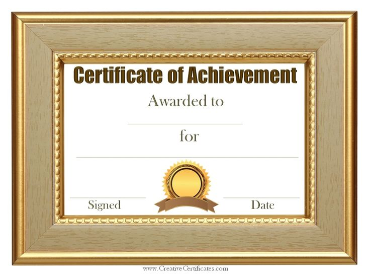 The 25+ best Sample certificate of recognition ideas on Pinterest - blank stock certificate template