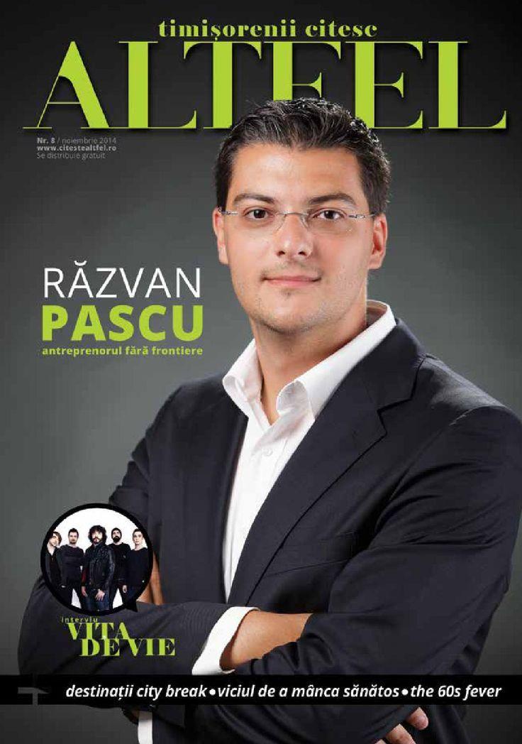 Revista Altfel November 2014 - Altfel magazine @razvanpascu @chinezu @tomatacuscufita @oanakovacs