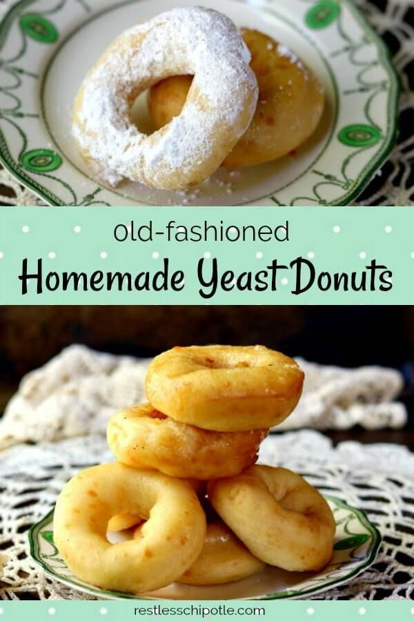 how to make homemade donuts easy without yeast