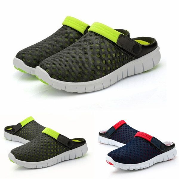 Men Sandals Slipper Comfortable Breathable Slip On…