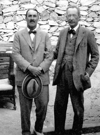 """Howard Carter & Lord Carnarvon-The tomb of Tutankhamen was discovered by and Englishman named Howard Carter. This tomb is the most intact tomb ever found in the Valley of the Kings. Finding this tomb started the legendary """"mummy's curse"""" which spoke of death to whoever disturbs the tomb of this 19 year old Pharaoh."""