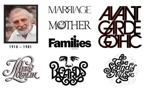 Great Names in Graphic Design: The Life and Work of Herb Lubalin (1918 – 1981)