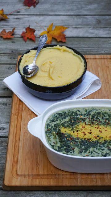 Creamy spinach (vegan)
