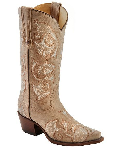 ... Floral Embroidered, Corral Bones Floral, Westerns Boots, Cowboys Boots