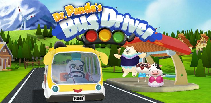 Take the wheel and start driving in Dr. Panda's Bus Driver! It's your job to pick up these cute animal passengers and take them where they want to go in the beautiful randomly generated world; but don't forget to paint and customize your bus before you go!