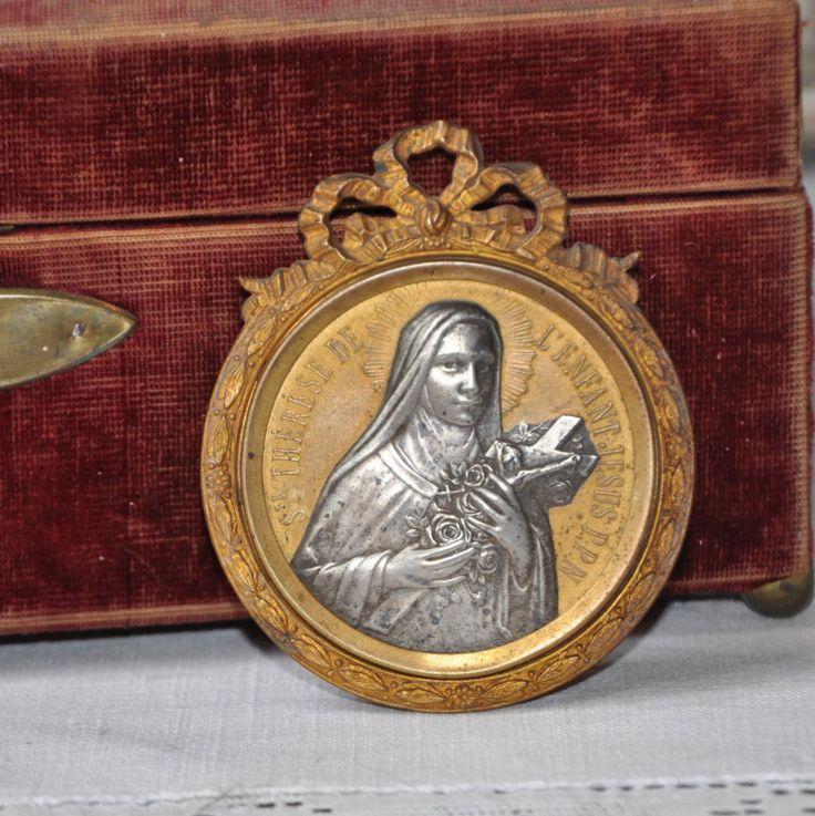 Antique French Mother Mary Ex Voto, Louis XVI Frame, Antique Medallion, French Catholic, Vintage Christian, Religious Paris France 1900s by FrenchArtAntiques on Etsy