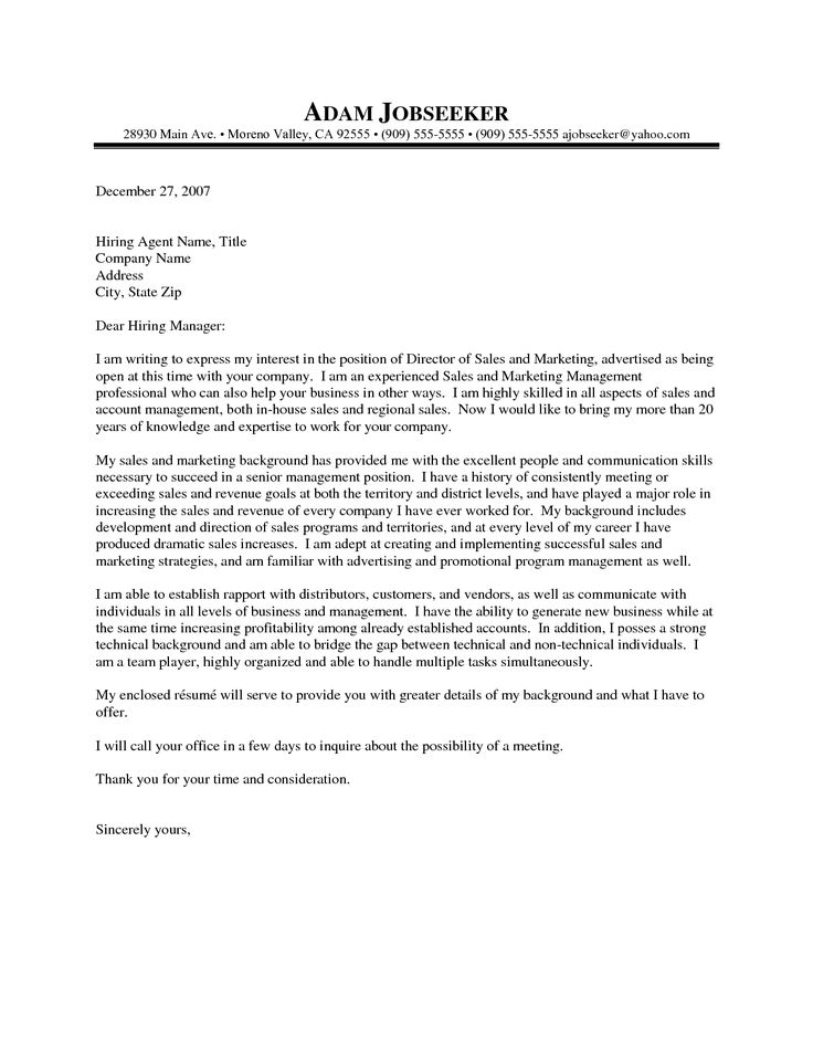 20 Top Cover Letter Examples | Cover Letters