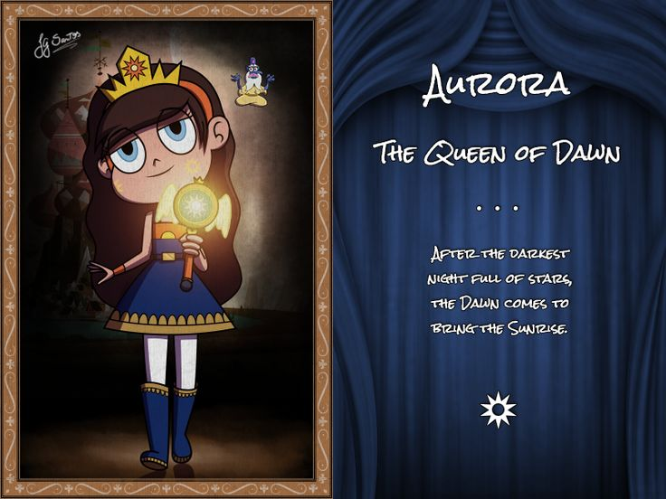Aurora, The Queen of Dawn by jgss0109 on DeviantArt||SHE IS STARCO'S DAUGHTER OMG SHE IS SO BEAUTIFUL