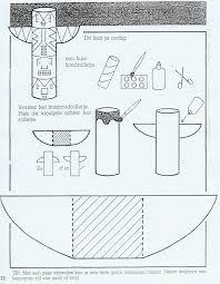 bouwtekening totempaal