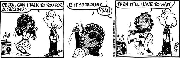 Vintage Luann Comic Strip sums up everything