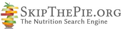 SkipThePie.org - The Nutrition Search Engine  Find nutrition info and compare two foods side by side