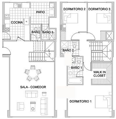 17 best images about proyectos casas peque as on pinterest for Planos de casas gratis