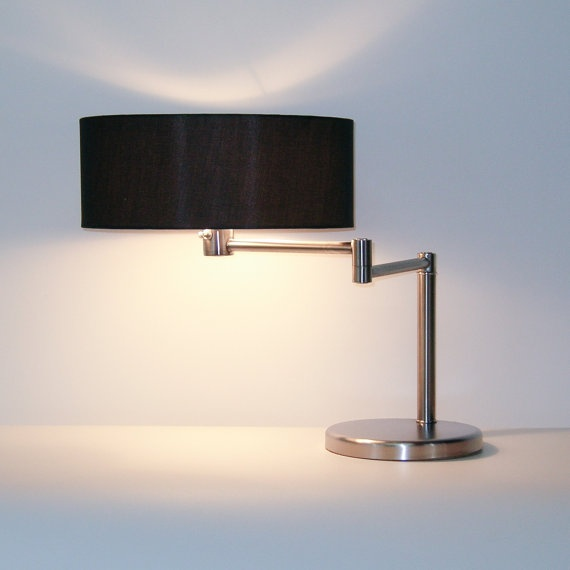 Nickle Swing Arm Lamp