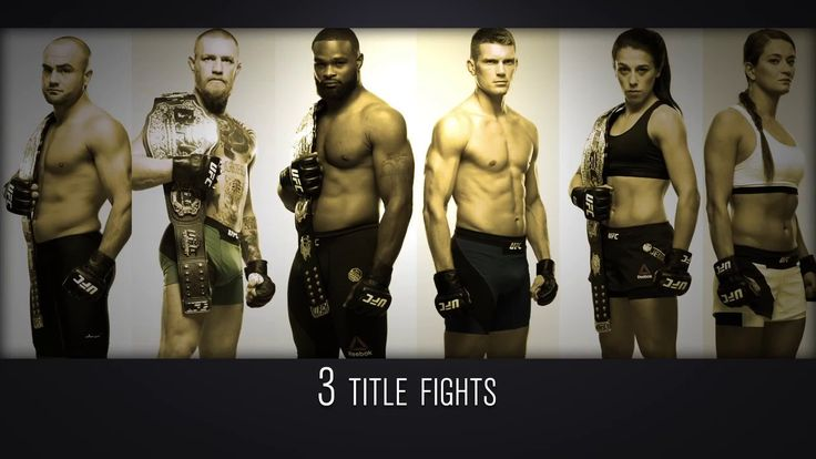 UFC 205: Biggest Fight Card Ever