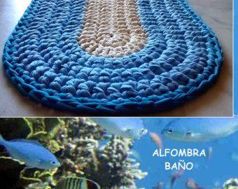 Resultado de imagen de alfombras de trapillo rectangulares