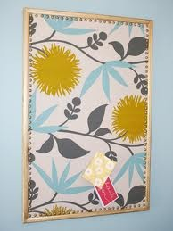 fabric covered cork board have one of these boards waiting for some pretty fabric find this pin and more on bedroom bulletin board ideas