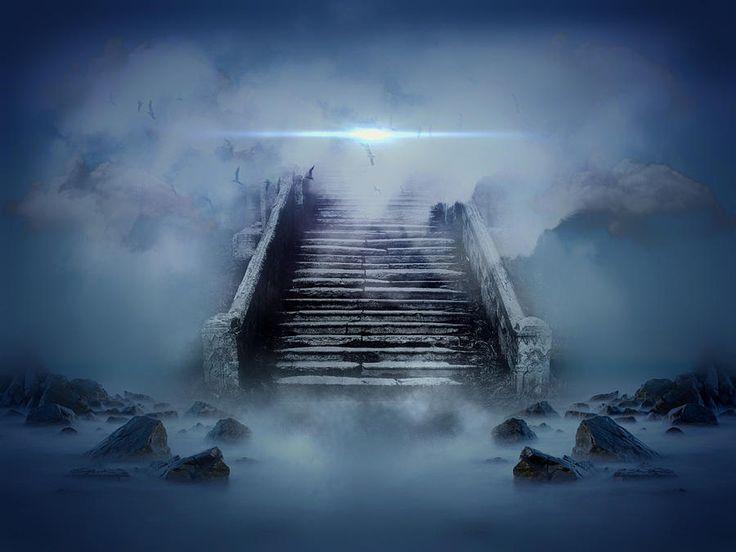Paintings Of Stairways To Heaven | Stairway To Heaven Digital Art
