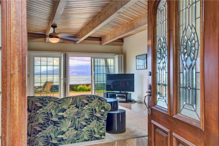 Maui Oceanfront Vacation Home Rental: Lahaina Oceanfront Estates, Lahaina, Hawaii