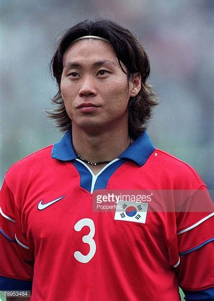 Football FIFA Confederations Cup 30th May 2001 Daegu Korea Korea Republic 0 v France 5 Korea Republic's Sung Yong Choi