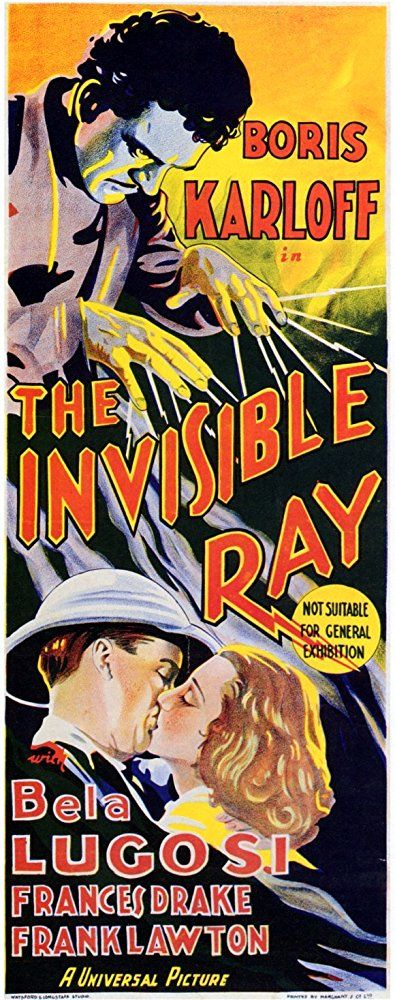 Frances Drake and Frank Lawton in The Invisible Ray (1936)
