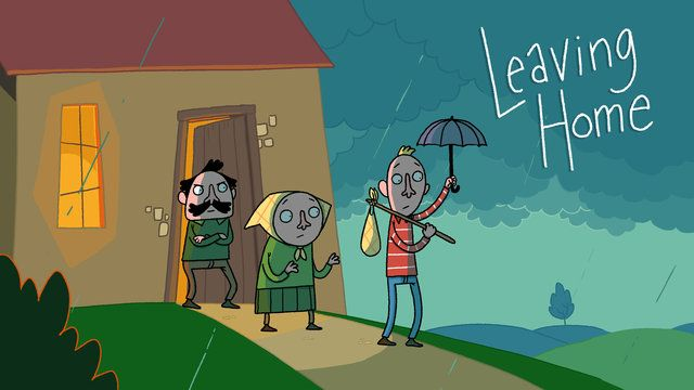 Leaving Home - Uit Huis - by Joost Lieuwma from il Luster