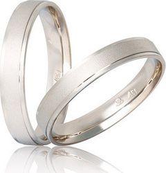 Βέρες Γάμου λευκόχρυσες Stergiadis S27