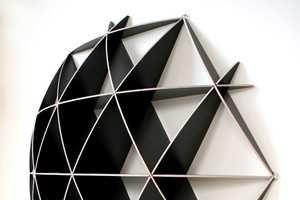Lightweight Contemporary Shelving : aliante bookshelf