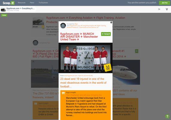 flygcforum.com ✈ MUNICH AIR DISASTER ✈ Manchester United Team ✈