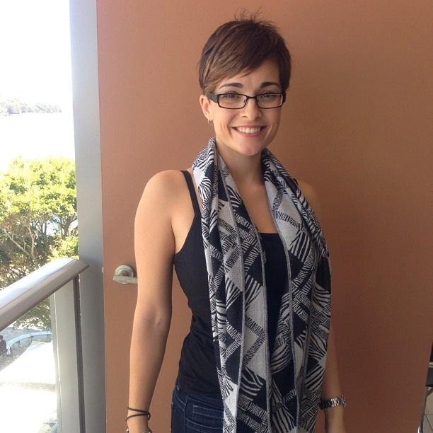 Ash (MM intern) is wearing a vintage scarf from the Bondi markets #mmwardrobeweek #fashion #love - @mamamiaaus- #webstagram
