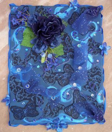 Indigo Rose by VivienneMercierDesigns for $45.00