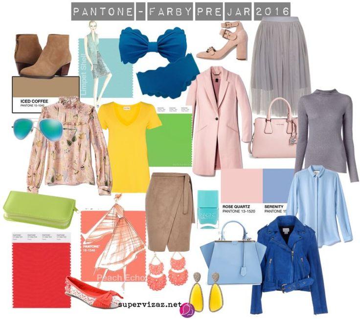 Pantone - farby pre jar 2016
