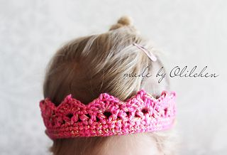 princess crown crochet pattern free